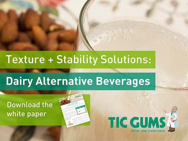 dairy alternative beverages white paper