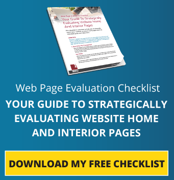 Web Page Evaluation Checklist