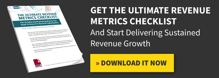 Get The Ultimate Revenue Metrics Checklist