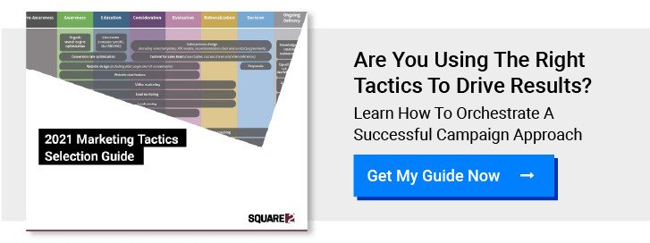Get My 2021 Marketing Tactics Selection Guide