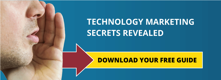 Technology Marketing Secrets Revealed