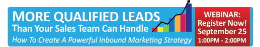 Webinar: More Qualified Leads Than Your Sales Team Can Handle