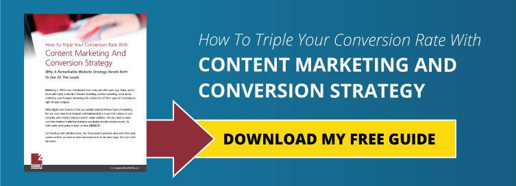 How To Triple Your Conversion Rate With Content Marketing And Conversion Strategy