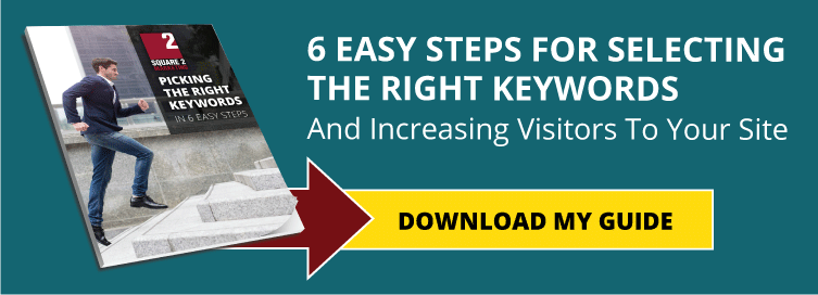 6 Easy Steps For Selecting The Right Keywords And Increasing Visitors To Your Site