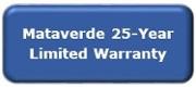Mataverde 25 year limited warranty
