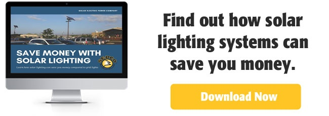 Solar Lighting to Save Money CTA