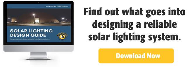 2017 Solar Lighting Design Guide CTA
