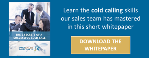 5 Secrets to Cold Call Success - Download Whitepaper