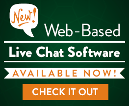 Learn about our new Web-Based Chat Software