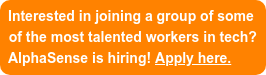 Interested in joining a group of some of the most talented workers in tech? AlphaSense is hiring! Apply here.