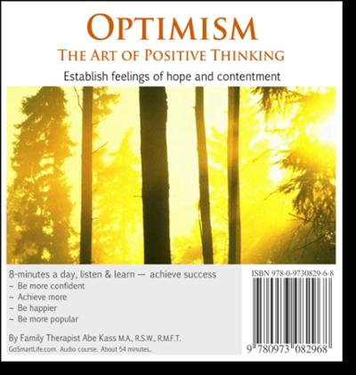 fix a broken marriage, optimism, positive thinking