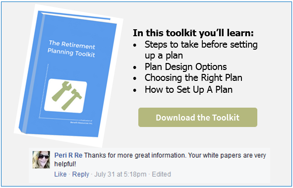 Get the Ultimate Retirement  Plan Toolkit!  (4 white papers included!)