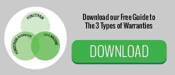 3 Types of Warranties Free Guide ADI Agency