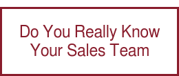 Do You Really Know Your Sales Team