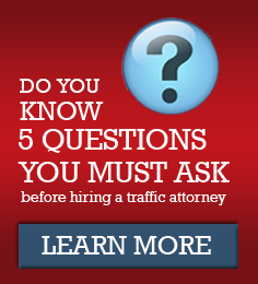 5 Questions to Ask before Hiring a Traffic Attorney