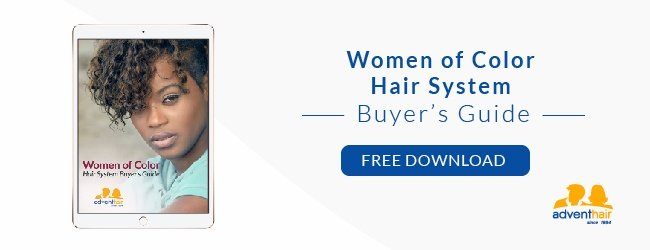 Download our Free Women of Color Hair System Buyer's Guide