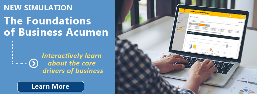 foundations of business acumen simulation