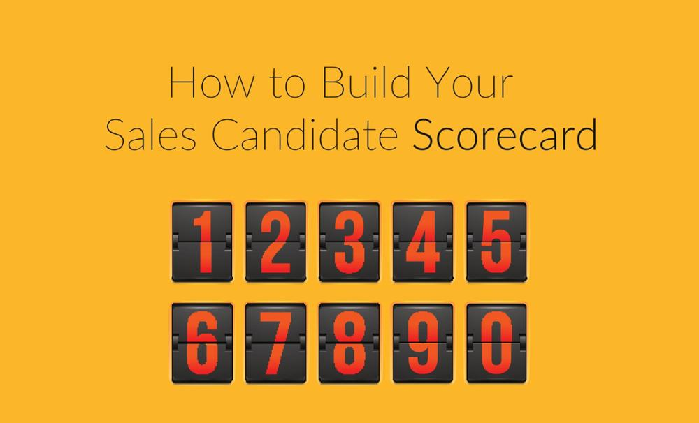 Download the sales hiring scorecard