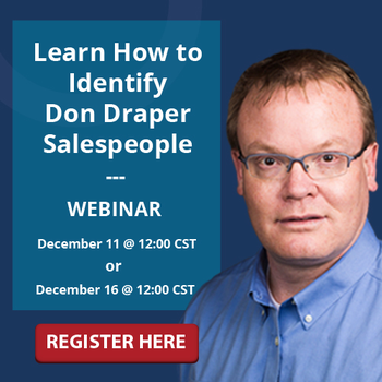 How to Identify Don Draper Salespeople Webinar
