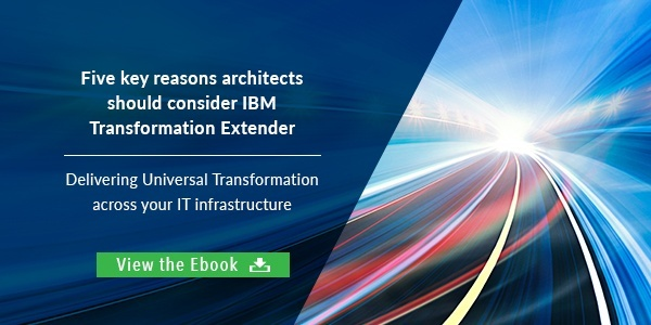 Five key reasons architects should consider IBM Transformation Extender