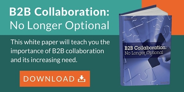B2B Collaboration - No longer Optional