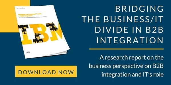 IBM Bridging the business and IT Divide in B2B Integration