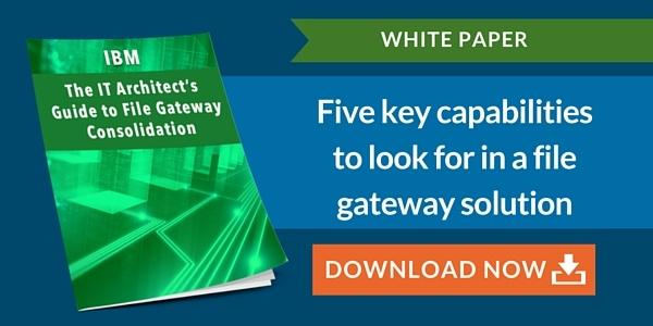 White Paper - The IT Architect's Guide to File Gateway Consolidation