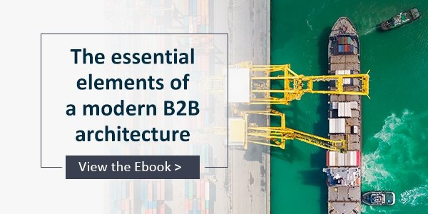 Ebook - The Essential Elements of a Modern B2B Architecture