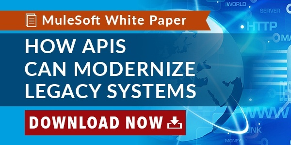 How APIs can modernize legacy systems