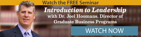 Watch the FREE Seminar: Introduction to Leadership