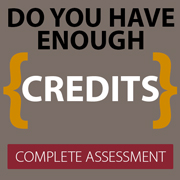 Complete an Initial Credit Assessment