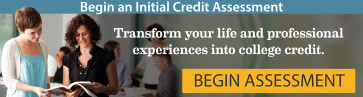 Begin an initial credit assessment