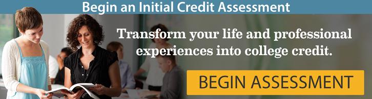 Begin an initial credit assessment
