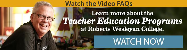 Watch the Teacher Education Video FAQs