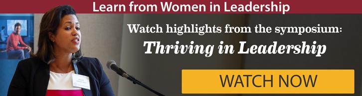 Learn from Women in Leadership: Watch Now