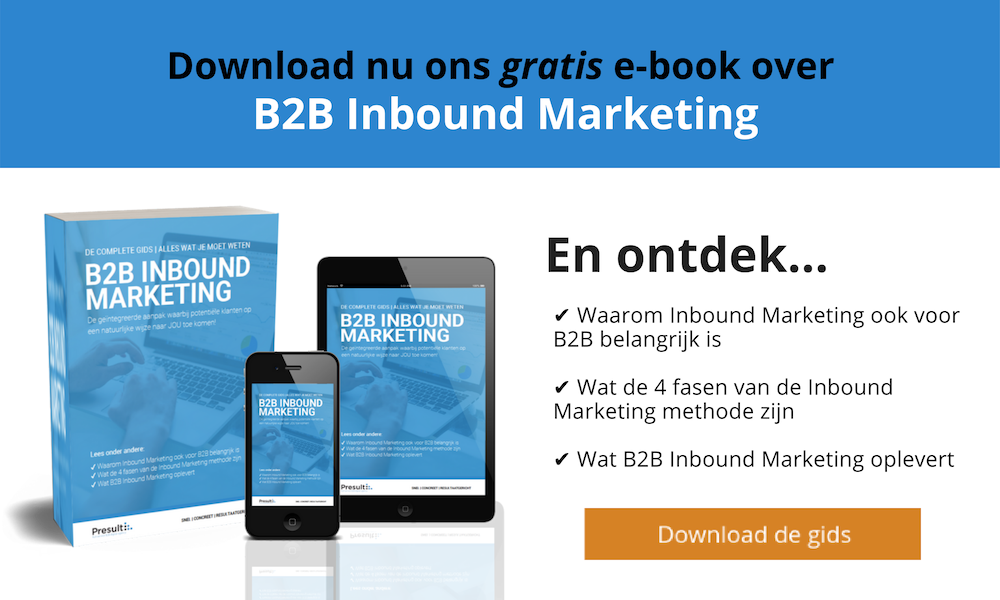 B2B inbound marketing gids