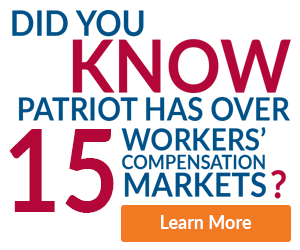 Did You Know Patriot Has Over 15 Workers' Compensation Markets?