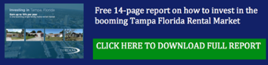 Free 14 page guide to the Tampa Florida real estate market