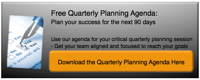 Rhythm Systems Quarterly Planning Agenda