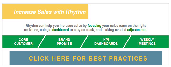 Increase your sales revenue using Rhythm software