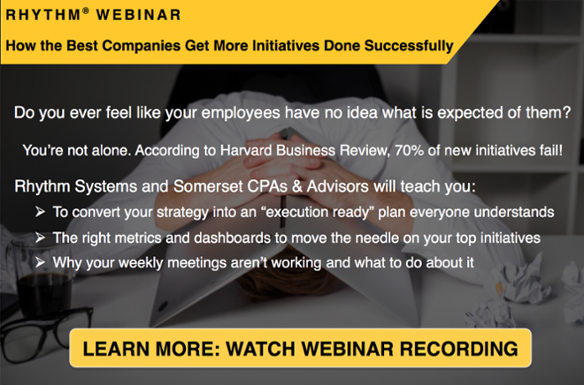 Watch the webinar and learn how the best companies get more initiatives done successfully.