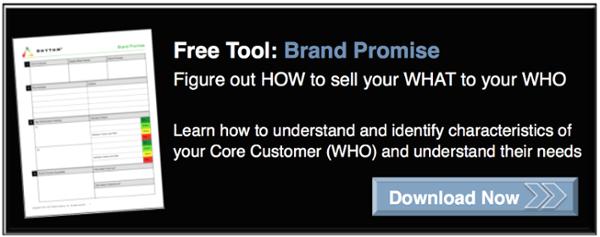 Rhythm Systems Brand Promise Tool