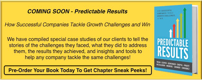 Pre-Order Patrick Thean and Teams new book Predictable Results