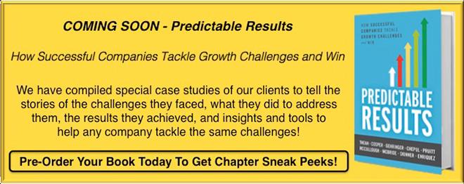 Pre-Order Patrick Thean and Teams new book Predictable Results