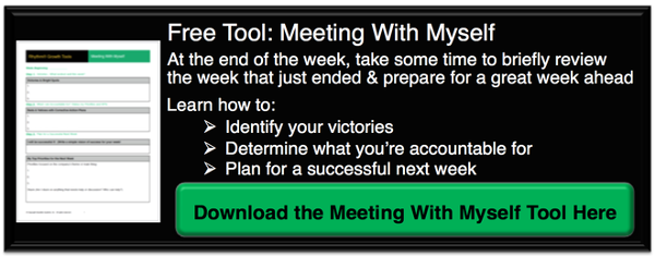 Rhythm Systems Weekly Meeting With Myself Tool