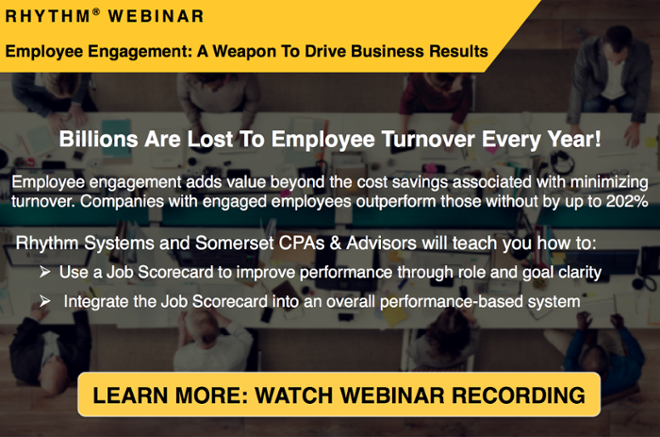 Register for this webinar to learn the importance of Employee Engagement-A Weapon To Drive Business Results