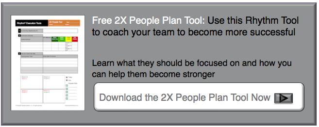 Rhythm Systems 2X People Plan Tool for High Performance Teams