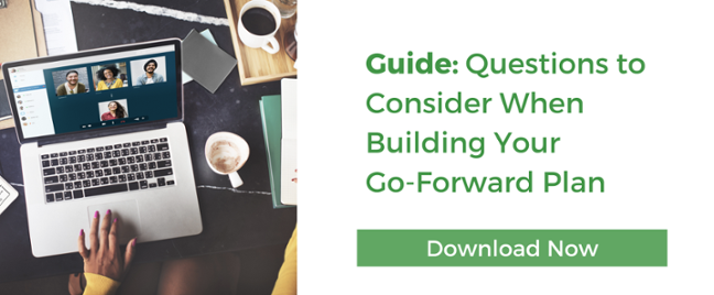 Download Guide: Questions to Consider  for Go-Forward Planning