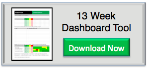 13 Week Dashboard Tool - Quarterly Planning