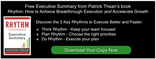 Rhythm Systems Patrick Thean's Summary from his Rhythm book